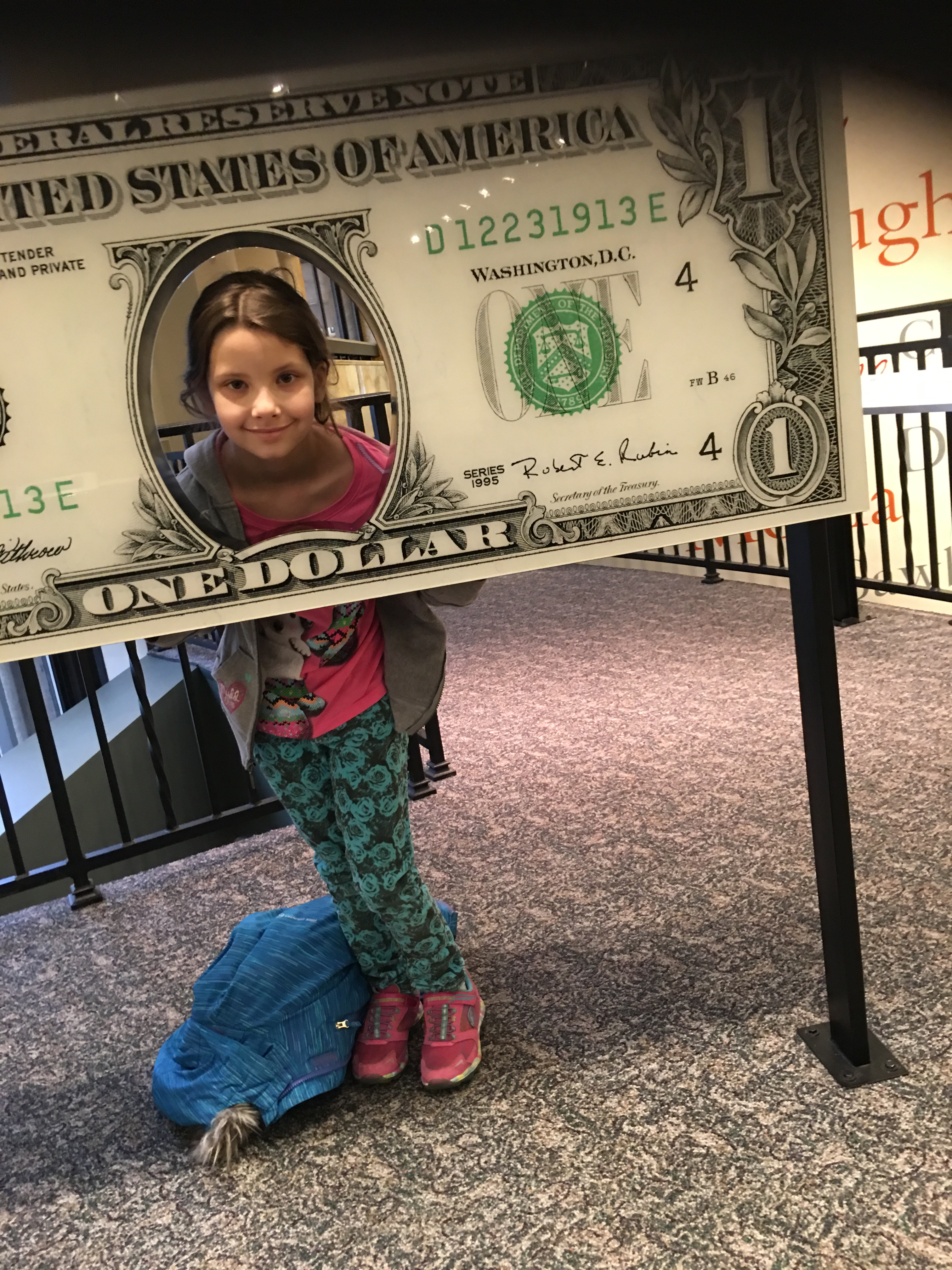 Emily on Dollar Bill