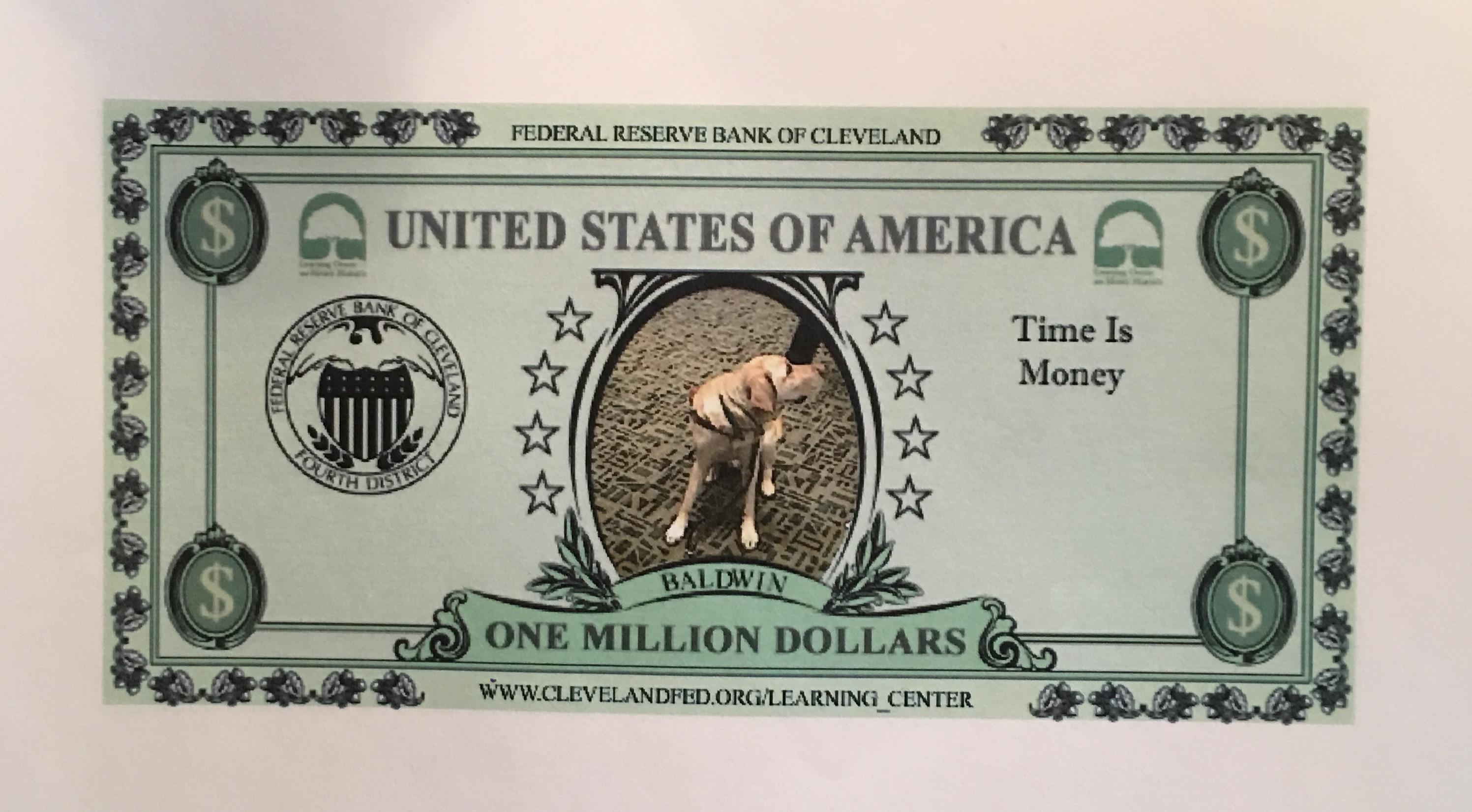 Baldwin made his own money