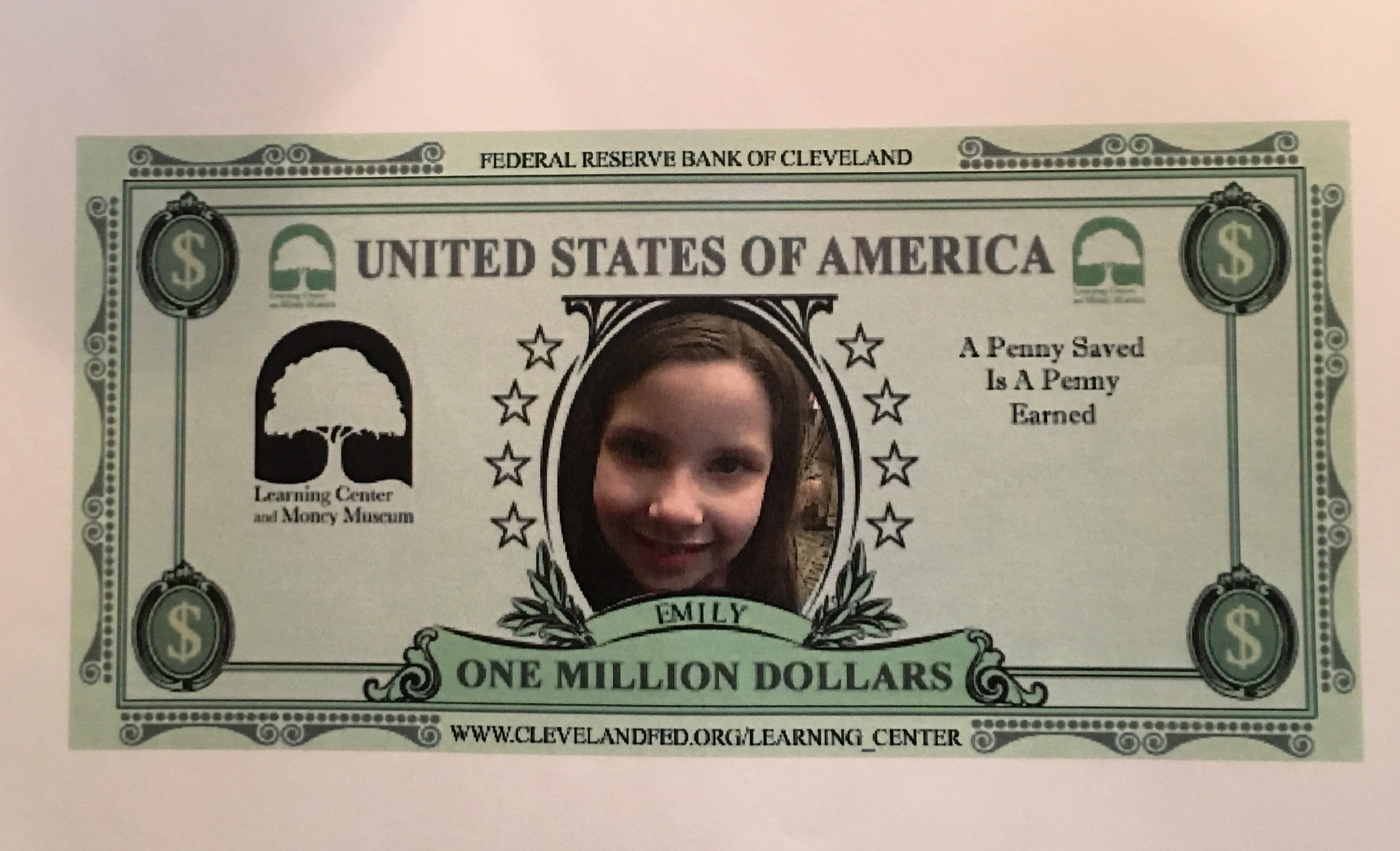 Emily's money