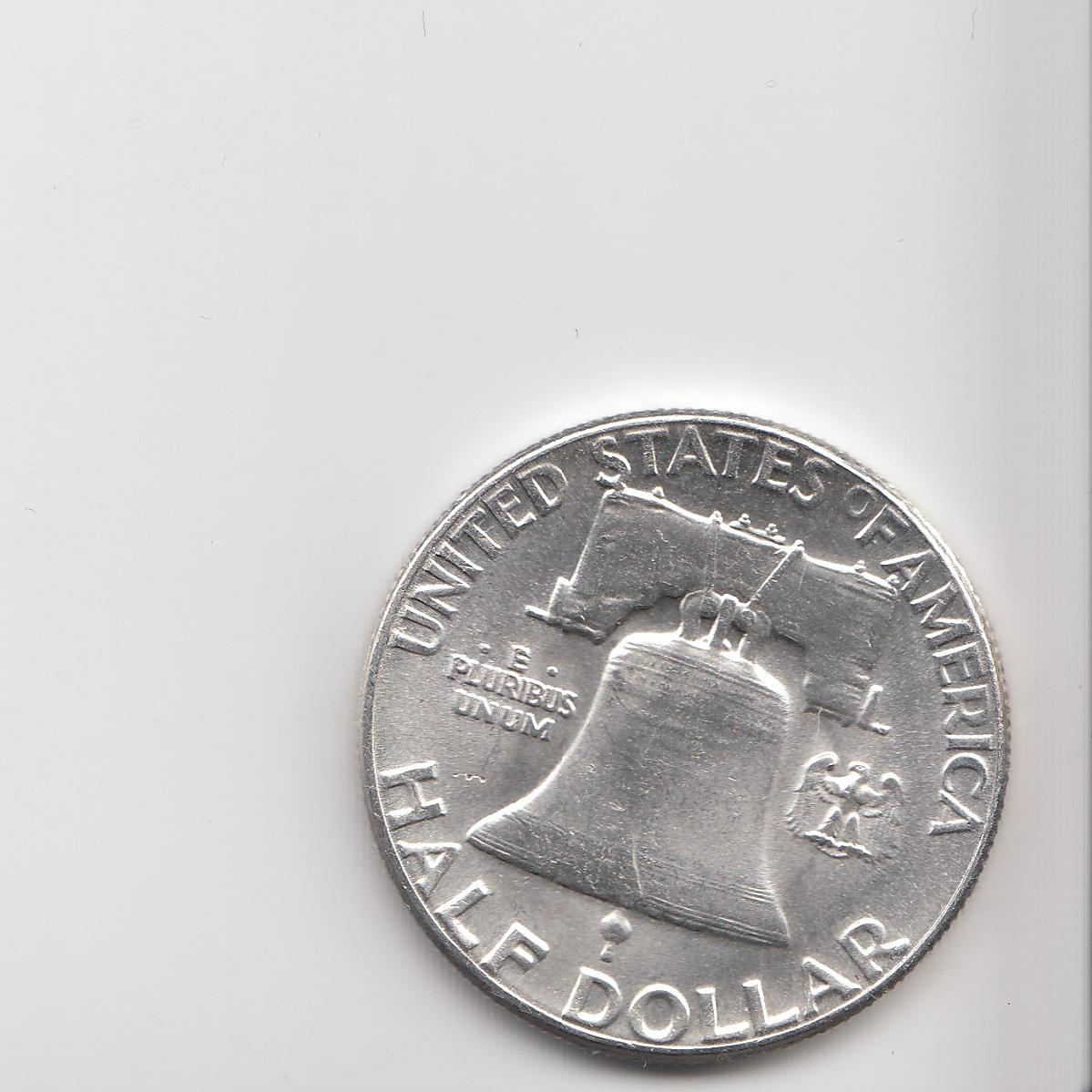 Scanned Half Dollar